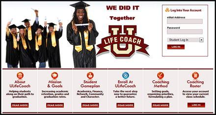 ULifeCoach.com Website Designed by N.A.I. Multimedia Studios New Orleans Texas