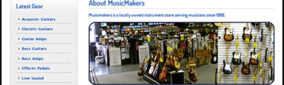 MusicMakers Music Store