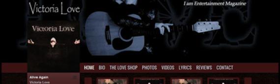Victoria Love Website & CD