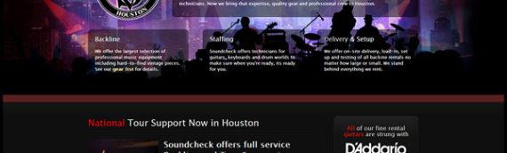 Soundcheck Houston