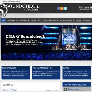Soundcheck Nashville designed by N.A.I. Multimedia Studios