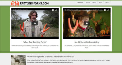 Rattling Forks website design by N.A.I. Multimedia Studios
