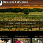 Spicewood Vineyards Website Design by N.A.I. Multimedia Studios