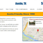 Eckert Insurance Group website design by N.A.I. Multimedia