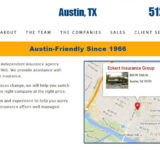 Eckert Insurance Group website design by N.A.I. Multimedia