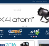 German Light Products Website Redesign by N.A.I. Multimedia Studios